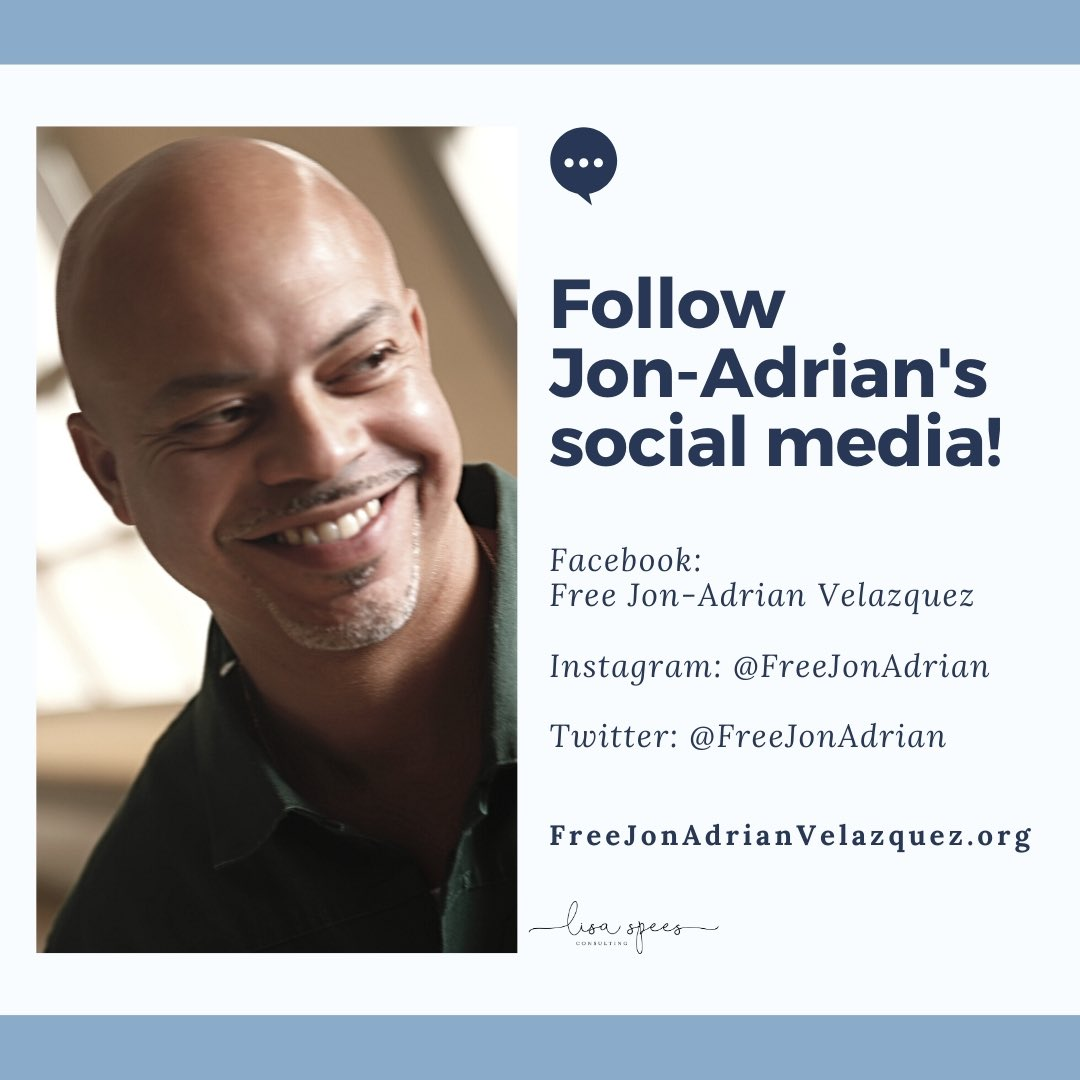 Follow Jon-Adrian on Social Media.